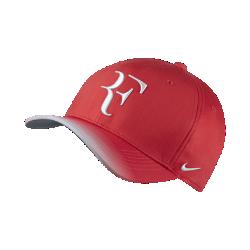Теннисная бейсболка с застежкой NikeCourt AeroBill Roger FedererТеннисная бейсболка с застежкой NikeCourt AeroBill Roger Federer из легкой влагоотводящей ткани обеспечивает длительный комфорт.<br>