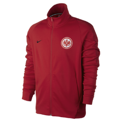 Мужская футбольная куртка Eintracht Frankfurt FranchiseМужская футбольная куртка Eintracht Frankfurt Franchise из мягкой и прочной ткани двойного переплетения с фирменными деталями обеспечивает комфорт на весь день.<br>