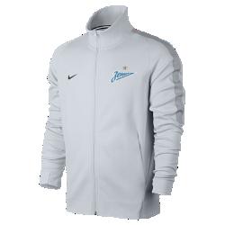 Мужская куртка FC Zenit Authentic N98Мужская куртка FC Zenit Authentic N98 обеспечивает тепло и комфорт благодаря прочной ткани и воротнику-стойке с молнией до подбородка.<br>