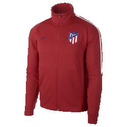 Мужская футбольная куртка Atletico de Madrid FranchiseМужская футбольная куртка Atletico de Madrid Franchise из прочной и мягкой ткани двойного переплетения с фирменными деталями обеспечивает комфорт на весь день.<br>