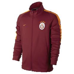 Мужская футбольная куртка Galatasaray S.K. FranchiseМужская футбольная куртка Galatasaray S.K. Franchise из мягкой и прочной ткани двойного переплетения с фирменными деталями обеспечивает комфорт на весь день.<br>