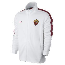 Мужская футбольная куртка A.S. Roma FranchiseМужская футбольная куртка A.S. Roma Franchise из мягкой и прочной ткани двойного переплетения с фирменными деталями обеспечивает комфорт на весь день.<br>