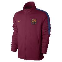 <ナイキ(NIKE)公式ストア> FC バルセロナ フランチャイズ メンズ サッカージャケット 868928-620 レッド画像