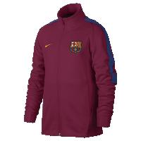 <ナイキ(NIKE)公式ストア> FC バルセロナ フランチャイズ ジュニア サッカージャケット 869253-620 レッド画像