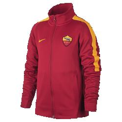 Футбольная куртка для школьников A.S. Roma FranchiseФутбольная куртка для школьников A.S. Roma Franchise из мягкой и прочной ткани двойного переплетения с фирменными деталями обеспечивает комфорт на весь день.<br>