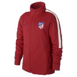 Футбольная куртка для школьников Atletico de Madrid FranchiseФутбольная куртка для школьников Atletico de Madrid Franchise из прочной и мягкой ткани двойного переплетения с фирменными деталями обеспечивает комфорт на весь день.<br>