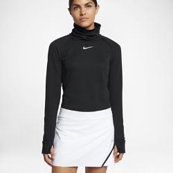Женская футболка для гольфа с длинным рукавом Nike AeroReactЖенская футболка для гольфа с длинным рукавом Nike AeroReact реагирует на меняющиеся условия, обеспечивая комфорт в непогоду.<br>