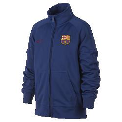 Куртка для школьников FC BarcelonaКуртка для школьников FC Barcelona с фирменными элементами и рукавами покроя реглан обеспечивает комфорт и свободу движений.<br>