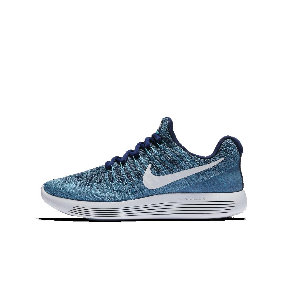 e3b215b1a8191 Nike LunarEpic Low Flyknit 2 Big Kids  Running Shoe Size 5.5Y (Blue ...