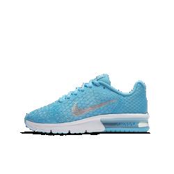 Беговые кроссовки для школьников Nike Air Max Sequent 2Беговые кроссовки для школьников Nike Air Max Sequent 2 с инновационным текстильным верхом и амортизирующей вставкой Max Air в области пятки воздухопроницаемости и невесомогокомфорта.<br>