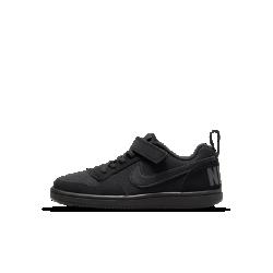 Кроссовки для дошкольников NikeCourt Borough LowКроссовки для дошкольников NikeCourt Borough Low — новая версия классической модели в баскетбольном стиле с низким профилем и удобной посадкой.<br>