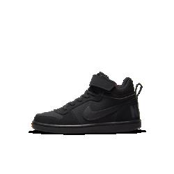 Кроссовки для дошкольников NikeCourt Borough MidКроссовки для дошкольников NikeCourt Borough Mid — новая версия классической модели в баскетбольном стиле с бортиком средней высоты для комфорта и поддержки на каждый день.<br>