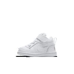 Кроссовки для малышей NikeCourt Borough MidКроссовки для малышей NikeCourt Borough Mid — новая версия классической модели в баскетбольном стиле с бортиком средней высоты для комфорта и поддержки на каждый день.<br>