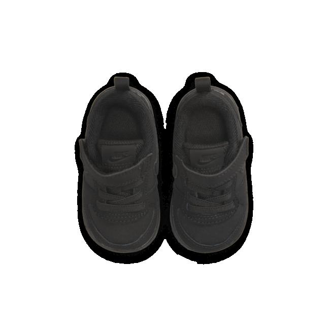 Nike Court Borough kindersneaker zwart