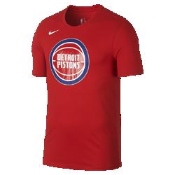 Мужская футболка НБА Detroit Pistons Nike Dry LogoМужская футболка НБА Detroit Pistons Nike Dry Logo из ткани Dri-FIT обеспечивает комфорт во время игры и на каждый день. Преимущества  Ткань Nike Dry отводит влагу и обеспечивает комфорт Горловина из рубчатой ткани для дополнительной прочности  Информация о товаре  Печатный логотип команды с блестящими акцентами Состав: 58% хлопок/42% полиэстер Машинная стирка Импорт<br>