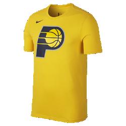 Мужская футболка НБА Indiana Pacers Nike Dry LogoМужская футболка НБА Indiana Pacers Nike Dry Logo из ткани Dri-FIT обеспечивает комфорт во время игры и на каждый день. Преимущества  Ткань Nike Dry отводит влагу и обеспечивает комфорт Горловина из рубчатой ткани для дополнительной прочности  Информация о товаре  Печатный логотип команды с блестящими акцентами Состав: 58% хлопок/42% полиэстер Машинная стирка Импорт<br>