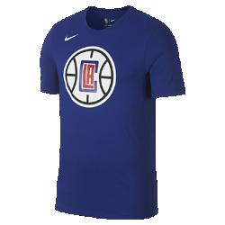 Мужская футболка НБА LA Clippers Nike Dry LogoМужская футболка НБА LA Clippers Nike Dry Logo из влагоотводящей ткани Dri-FIT обеспечивает комфорт во время игры и на каждый день. Преимущества  Ткань Nike Dry отводит влагу и обеспечивает комфорт Горловина из рубчатой ткани для дополнительной прочности  Информация о товаре  Печатный логотип команды с блестящими акцентами Состав: 58% хлопок/42% полиэстер Машинная стирка Импорт<br>