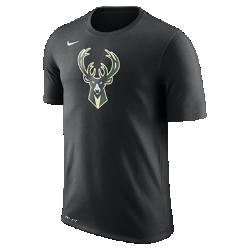 Мужская футболка НБА Milwaukee Bucks Nike Dry LogoМужская футболка НБА Milwaukee Bucks Nike Dry Logo из ткани Dri-FIT, украшенной символикой команды, обеспечивает комфорт во время игры и на каждый день. Преимущества  Ткань Nike Dry отводит влагу и обеспечивает комфорт Горловина из рубчатой ткани для дополнительной прочности  Информация о товаре  Печатный логотип команды с блестящими акцентами Состав: 58% хлопок/42% полиэстер Машинная стирка Импорт<br>