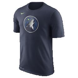 Мужская футболка НБА Minnesota Timberwolves Nike Dry LogoМужская футболка НБА Minnesota Timberwolves Nike Dry Logo из ткани Dri-FIT обеспечивает комфорт во время игры и на каждый день. Преимущества  Ткань Nike Dry отводит влагу и обеспечивает комфорт Горловина из рубчатой ткани для дополнительной прочности  Информация о товаре  Печатный логотип команды с блестящими акцентами Состав: 58% хлопок/42% полиэстер Машинная стирка Импорт<br>