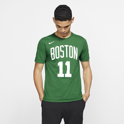 Мужская футболка НБА Kyrie Irving Boston Celtics Nike DryМужская футболка НБА Boston Celtics Nike Dry из влагоотводящей ткани Dri-FIT обеспечивает комфорт во время игры и на каждый день. Преимущества  Ткань Nike Dry отводит влагу и обеспечивает комфорт Горловина из рубчатой ткани для дополнительной прочности  Информация о товаре  Состав: 58% хлопок/42% полиэстер Машинная стирка Импорт<br>
