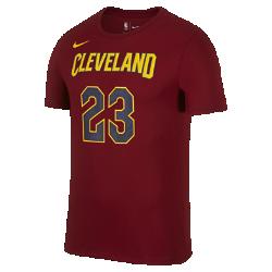 Мужская баскетбольная футболка Nike Dry NBA Cavaliers (James)Мужская баскетбольная футболка Nike Dry NBA Cavaliers (James) из влагоотводящей ткани обеспечивает комфорт.<br>
