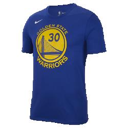 Мужская баскетбольная футболка Nike Dry NBA Warriors (Curry)Мужская баскетбольная футболка Nike Dry NBA Warriors (Curry) из влагоотводящей ткани обеспечивает комфорт.<br>