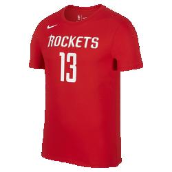 Мужская баскетбольная футболка Nike Dry NBA Rockets (Harden)Мужская баскетбольная футболка Nike Dry NBA Rockets (Harden) из влагоотводящей ткани обеспечивает комфорт.<br>