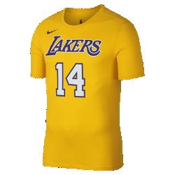 Мужская футболка НБА Brandon Ingram Los Angeles Lakers Nike DryМужская футболка НБА Los Angeles Lakers Nike Dry из влагоотводящей ткани Dri-FIT обеспечивает комфорт во время игры и на каждый день. Преимущества  Ткань Nike Dry отводит влагу и обеспечивает комфорт Горловина из рубчатой ткани для дополнительной прочности  Информация о товаре  Состав: 58% хлопок/42% полиэстер Машинная стирка Импорт<br>