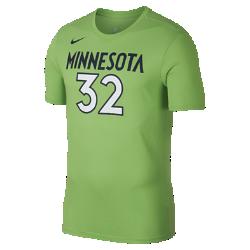 Мужская футболка НБА Karl-Anthony Towns Minnesota Timberwolves Nike DryМужская футболка НБА Minnesota Timberwolves Nike Dry из влагоотводящей ткани Dri-FIT обеспечивает комфорт во время игры и на каждый день. Преимущества  Ткань Nike Dry отводит влагу и обеспечивает комфорт Горловина из рубчатой ткани для дополнительной прочности  Информация о товаре  Состав: 58% хлопок/42% полиэстер Машинная стирка Импорт<br>