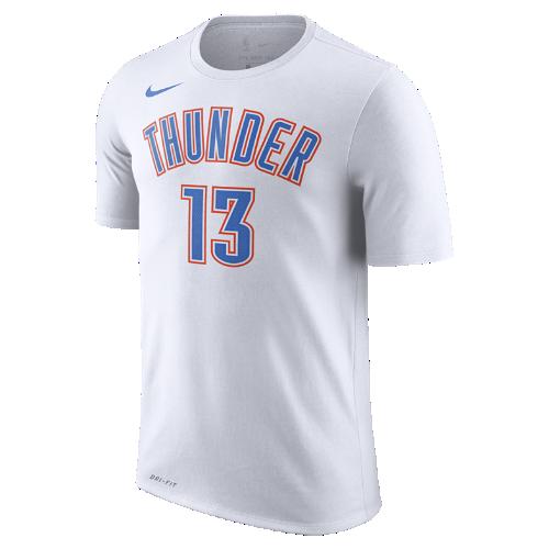 ポール ジョージ オクラホマシティ サンダー ナイキ ドライ メンズ NBA Tシャツ 870796-108 ホワイト