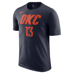 Paul George Oklahoma City Thunder Nike Dry Men's NBA T-Shirt