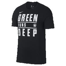 Мужская футболка НБА Boston Celtics Nike DryМужская футболка НБА Boston Celtics Nike Dry из влагоотводящей ткани Dri-FIT обеспечивает комфорт, когда ты играешь или болеешь за любимую команду. Преимущества  Ткань Nike Dry отводит влагу и обеспечивает комфорт Горловина из рубчатой ткани для дополнительной прочности  Информация о товаре  Состав: 65% хлопок/35% полиэстер Машинная стирка Импорт<br>