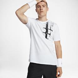 Мужская теннисная футболка NikeCourt Roger FedererМужская теннисная футболка NikeCourt Roger Federer из мягкого и прочного хлопка обеспечивает комфорт на весь день.<br>