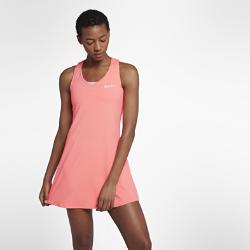Теннисное платье NikeCourt PureТеннисное платье NikeCourt Pure из эластичной влагоотводящей ткани с Т-образной спиной обеспечивает вентиляцию, комфорт и свободу движений на корте.<br>