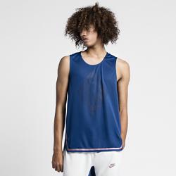 Джерси NikeLab x PigalleМужское баскетбольное джерси NikeLab x Pigalle — это современная деталь гардероба в баскетбольном стиле. Эта модель в спортивном стиле украшена фирменными деталями, интегрированными прямо в ткань.<br>
