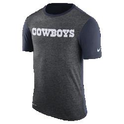 Мужская футболка Nike Dry Color Dip (NFL Cowboys)Мужская футболка Nike Dry Color Dip (NFL Cowboys) из мягкой влагоотводящей ткани дополнена ярким принтом с символикой команды.<br>