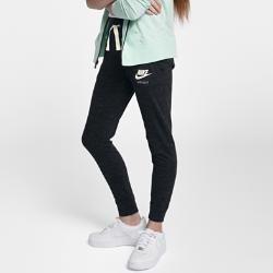 Брюки для девочек школьного возраста Nike Sportswear VintageБрюки для девочек школьного возраста Nike Sportswear Vintage из мягкого смесового хлопка обеспечивают невероятный комфорт.<br>