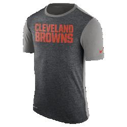 Мужская футболка Nike Dry Color Dip (NFL Browns)Мужская футболка Nike Dry Color Dip (NFL Browns) из мягкой влагоотводящей ткани дополнена заметным принтом с символикой команды.<br>