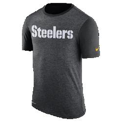 Мужская футболка Nike Dry Color Dip (NFL Steelers)Мужская футболка Nike Dry Color Dip (NFL Steelers) из мягкой влагоотводящей ткани дополнена ярким принтом с символикой команды.<br>