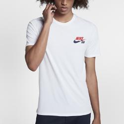 Мужская футболка Nike SBМужская футболка Nike SB из мягкого и прочного хлопка обеспечивает комфорт на весь день.<br>