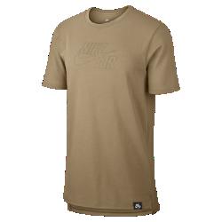 Мужская футболка Nike Sportswear AirМужская футболка Nike Sportswear Air из тяжелой хлопковой ткани джерси обеспечивает непревзойденный комфорт в любой ситуации.<br>