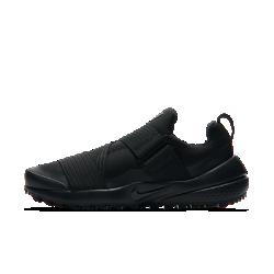Женские кроссовки для гольфа Nike Air Zoom GimmeЖенские кроссовки для гольфа Nike Air Zoom Gimme с мягким дышащим верхом и эластичным ремешком облегают стопу, обеспечивая легкость и поддержку. Гибкая подметка и технология Integrated Traction обеспечивают естественность движений и не дают обуви проскальзывать.<br>
