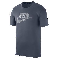Мужская беговая футболка Nike LegendМужская беговая футболка Nike Legend — классическая футболка из влагоотводящей ткани для комфорта после пробежки.<br>
