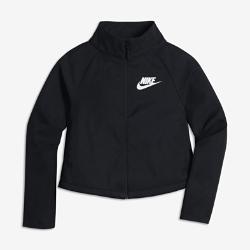 Куртка для девочек школьного возраста Nike SportswearКуртка для девочек школьного возраста Nike Sportswear из легкой ткани с прочным водоотталкивающим покрытием обеспечивает комфорт и защиту от дождя.<br>