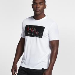 Мужская баскетбольная футболка Jordan Dry Flight PhotoМужская баскетбольная футболка Jordan Dry Flight Photo из влагоотводящей ткани обеспечивает комфорт во время игры.<br>