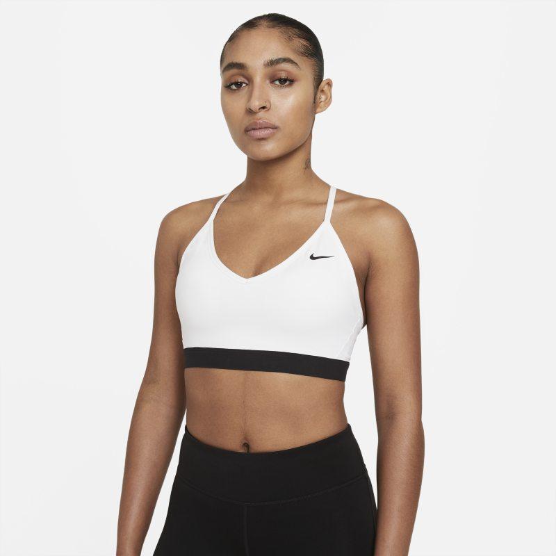 Nike Indy Sujetador deportivo de sujeción ligera - Mujer - Blanco