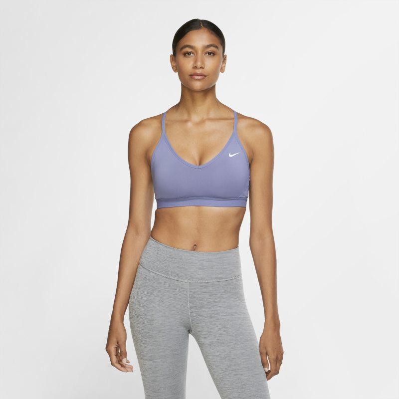 Nike Indy Sujetador deportivo de sujeción ligera - Mujer - Verde