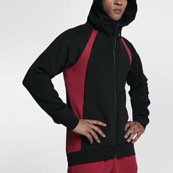 Мужская худи с молнией во всю длину Jordan Sportswear Flight Tech FleeceМужская худи с молнией во всю длину Jordan Sportswear Flight Tech Fleece из эластичного флиса удерживает тепло и обеспечивает свободу движений.<br>