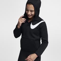 Худи для тренинга для девочек школьного возраста Nike ThermaХуди для тренинга для девочек школьного возраста Nike Therma из мягкой термоткани с рукавами покроя реглан обеспечивает тепло и свободу движений на тренировках и на каждый день.<br>