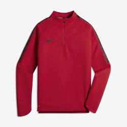 Футболка для тренинга для мальчиков школьного возраста Nike Shield SquadФутболка для тренинга для мальчиков школьного возраста Nike Shield Squad из ткани Nike Shield блокирует ветер и влагу, позволяя играть на поле в любую погоду.<br>